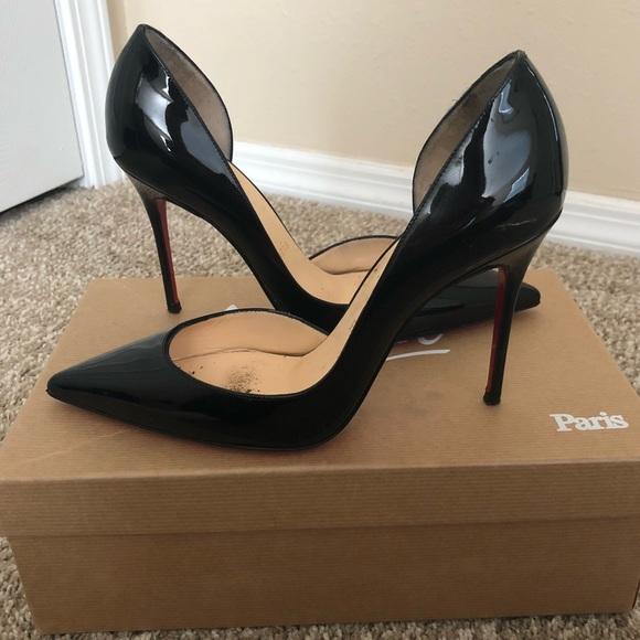 18fb99bee9b Christian Louboutin Shoes - Christian Louboutin Iriza 100 Black Heels